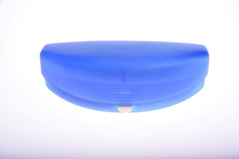 Púzdro na okuliare - Modré PLASTOVÉ VEĽKÉ